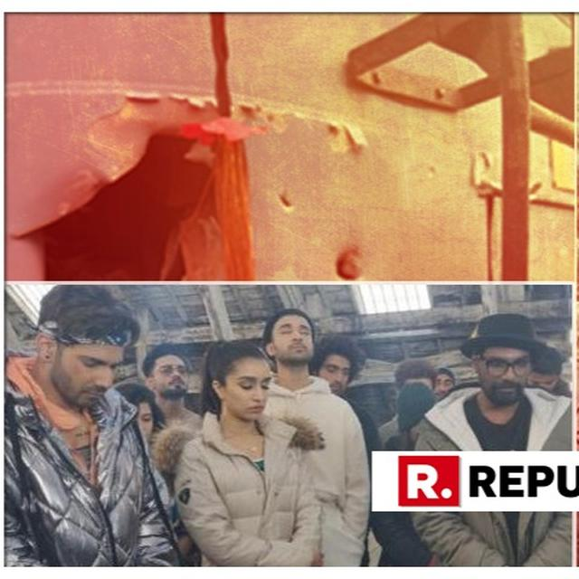 VARUN DHAWAN AND CAST OF 'STREET DANCER' OBSERVE TWO MINUTES OF SILENCE IN THE WAKE OF PULWAMA TERROR ATTACK