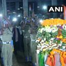 THOUSANDS CONVERGE FOR LAST RITES OF CRPF JAWANS IN ODISHA