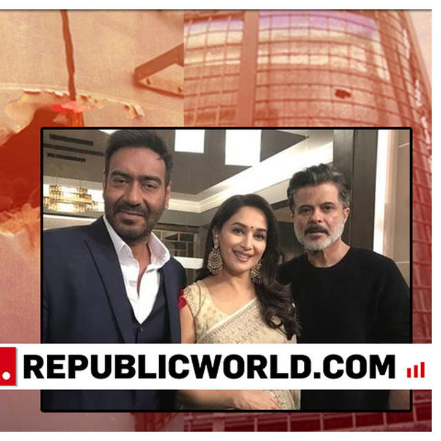 TEAM OF AJAY DEVGN, ANIL KAPOOR, MADHURI DIXIT STARRER 'TOTAL DHAMAAL' DONATES RS 50 LAKH TO FAMILIES OF MARTYRS OF PULWAMA TERROR ATTACK