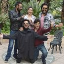 AJAY DEVGN IS SEEN SAYING SOMETHING TO HIS 'TOTAL DHAMAAL'' CO-STARS; ARJUN KAPOOR AND NETIZENS TAKE A GUESS