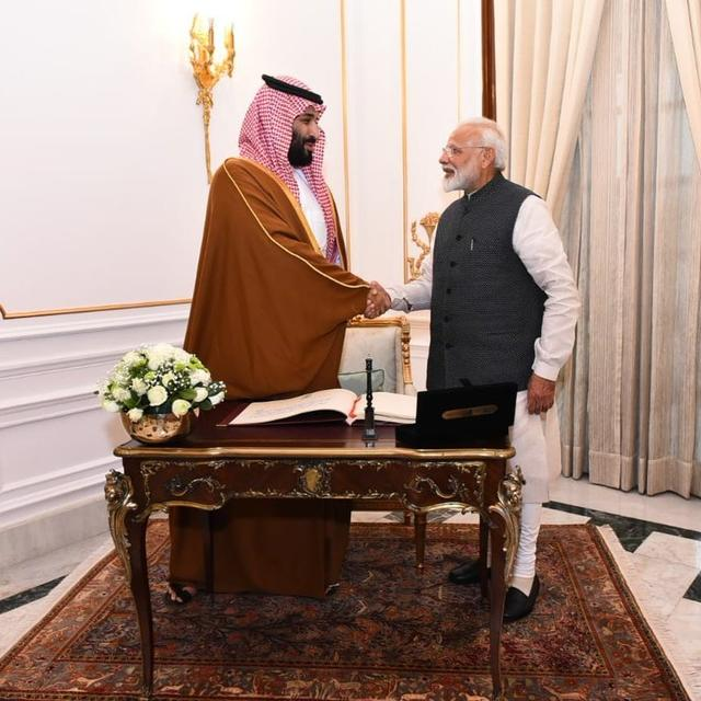 SAUDI ARABIA SEES USD 100 BN INVESTMENT OPPORTUNITY IN INDIA: CROWN PRINCE