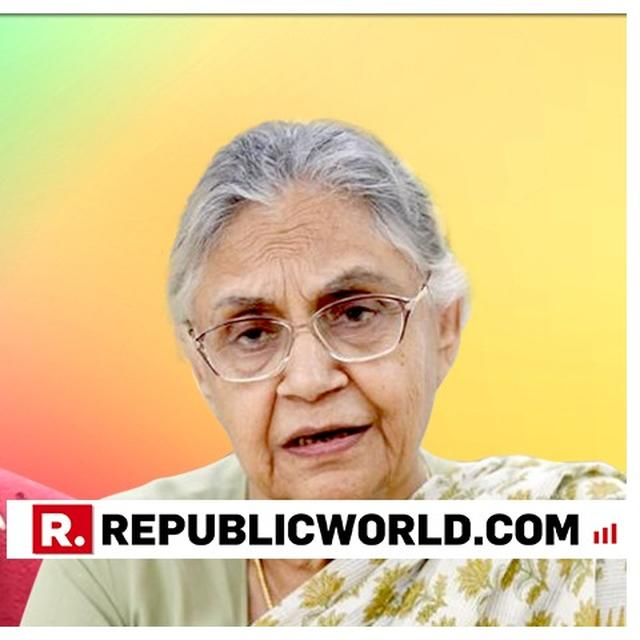 """WATCH: """"HE HAS NOT TALKED ABOUT ALLIANCE EVEN ONCE"""", SHEILA DIXIT DESTROYS ARVIND KEJRIWAL'S STATEMENT ON ALLIANCE WITH CONG"""