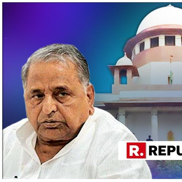PLEA FILED IN SC SEEKING STATUS OF PROBE IN DISPROPORTIONATE ASSETS CASE AGAINST MULAYAM, AKHILESH
