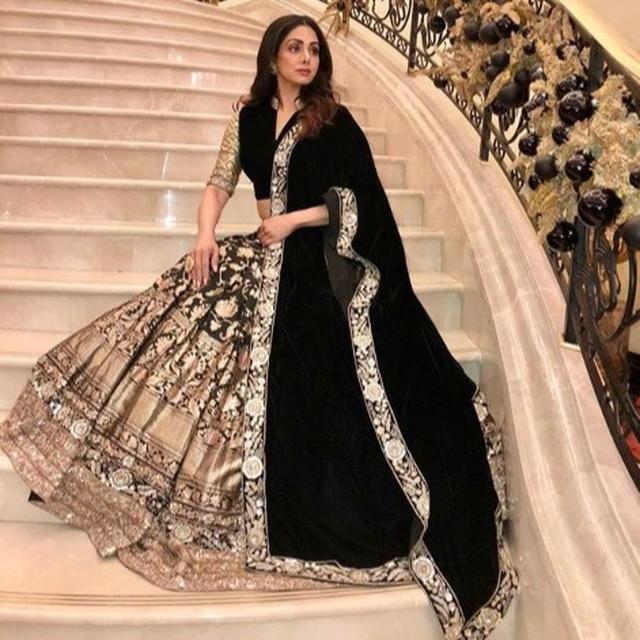 LOOKING BACK AT SRIDEVI'S AVATARS: A TIMELESS BEAUTY AND FASHION ICON
