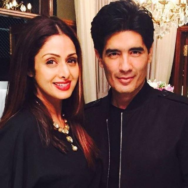 'I MISS YOU': MANISH MALHOTRA REMEMBERS SRIDEVI WITH A HEARTFELT POST ON HER FIRST DEATH ANNIVERSARY