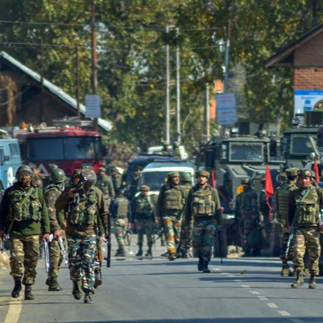 DEPUTY SP MARTYRED IN ENCOUNTER IN J&K'S KULGAM DISTRICT