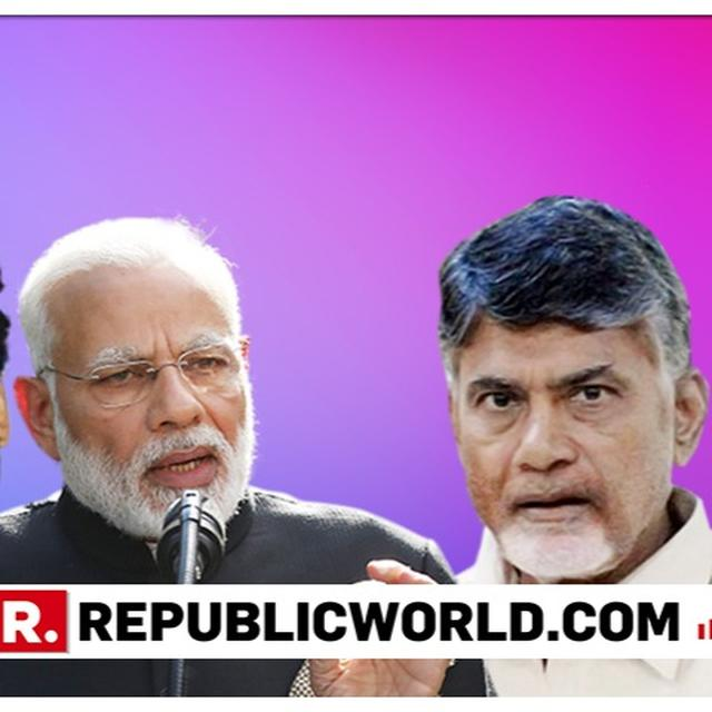 CHANDRABABU NAIDU CHALLENGES PM MODI, KCR AND JAGANMOHAN REDDY TO JOIN HANDS AND FIGHT AGAINST TDP. READ HERE