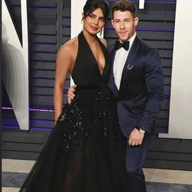 PRIYANKA CHOPRA STUNS WITH HUSBAND NICK JONAS AT THE OSCARS 2019 AFTER PARTY. SEE PICTURES HERE