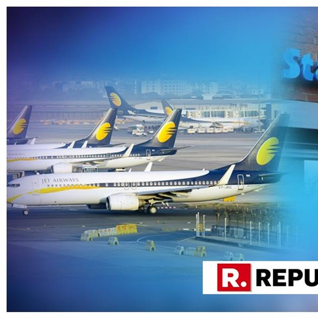JET AIRWAYS SHARES FALL 3 PC ON REPORTS OF SBI MULLING MOVING NCLT AGAINST AIRLINE