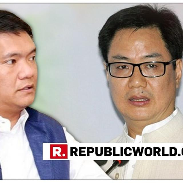 KIREN RIJIJU RULES OUT PRESIDENT RULE IN ARUNACHAL PRADESH, SAYS STATE GOVERNMENT COULD NOT CONVINCE PEOPLE ON PRC ISSUE
