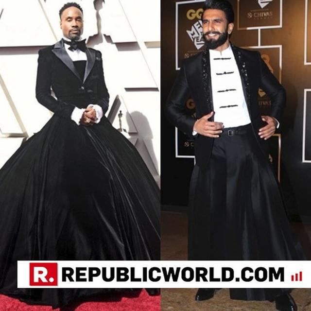 'HOLLYWOOD HAS THEIR OWN VERSION OF RANVEER SINGH' SAY NETIZENS AS BILLY PORTER'S OSCAR OUTFIT MAKES HEADLINES