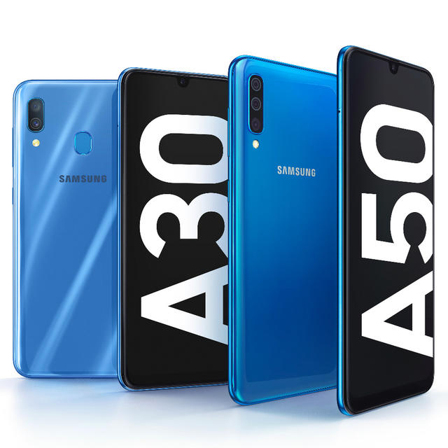 SAMSUNG GALAXY A30, GALAXY A50 LAUNCHED AT MWC 2019, COMING TO INDIA ON FEB 28