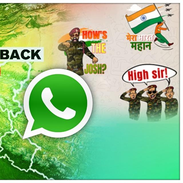 MERA BHARAT MAHAN STICKERS ARE GOING VIRAL ON WHATSAPP, HERE'S HOW TO USE THEM