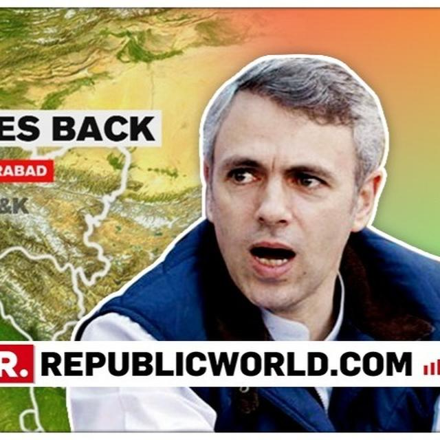 "READ THIS: ""STRIKE IN BALAKOT HUGELY EMBARRASSING FOR PAKISTAN"", SAYS OMAR ABDULLAH EXPLAINING EXACTLY THE IAF'S OPERATION IS A ""WHOLE NEW PARADIGM"""