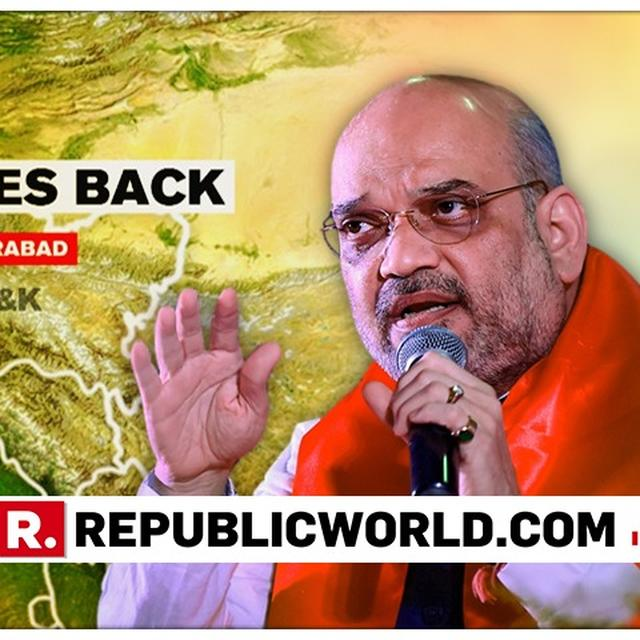 """NEW INDIA WILL NOT SPARE ANY ACTS OF TERROR"": BJP PRESIDENT AMIT SHAH SALUTES THE VALOUR OF FORCES, GIVES OUT A STERN MESSAGE TO PERPETRATORS OF TERROR AFTER INDIA STRIKES PAKISTAN'S TERROR CAMPS"