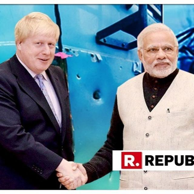 UK STANDS SHOULDER-TO-SHOULDER WITH INDIA IN OUTRAGE OVER PULWAMA ATTACK: BORIS JOHNSON