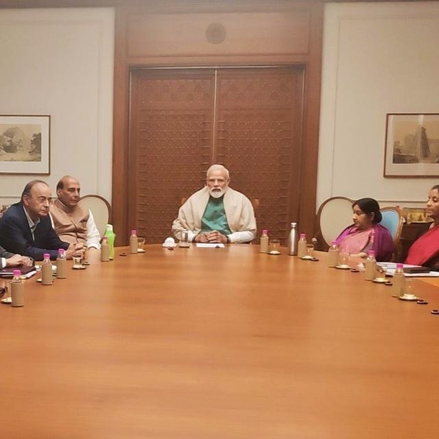 PM MODI CHAIRS NATIONAL SECURITY COUNCIL MEETING