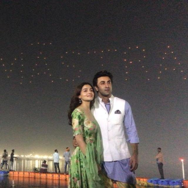 'A MAGICAL JOURNEY UNRAVELS': ALIA BHATT, RANBIR KAPOOR, AYAN MUKERJI UNVEIL 'BRAHMASTRA' LOGO AT MAHA KUMBH WITH STUNNING SKY SHOW