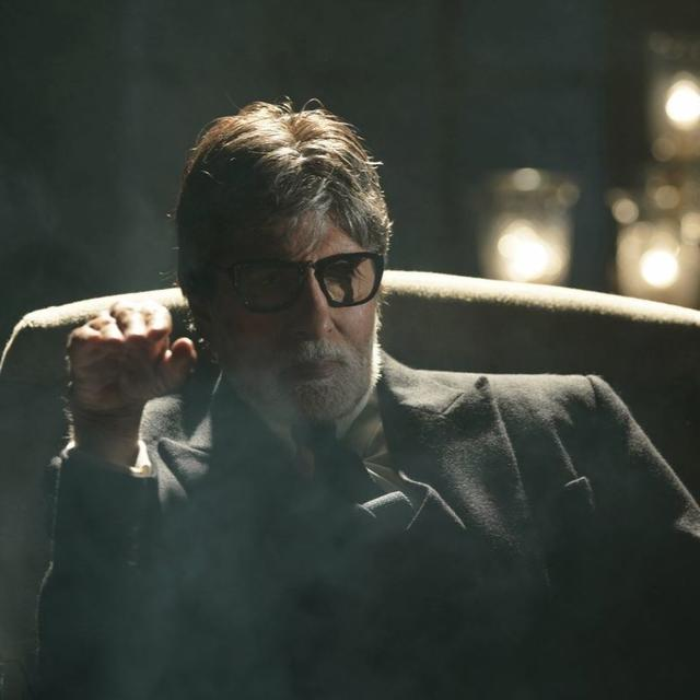 'BRIDGING THE GAP BETWEEN THE TRUTH AND THE LIE': AMITABH BACHCHAN FLASHES HIS ON-SCREEN CHARACTERIN THE LATESTPOSTER OF 'BADLA', CALLS IT HIS'PERSONAL FAVOURITE'