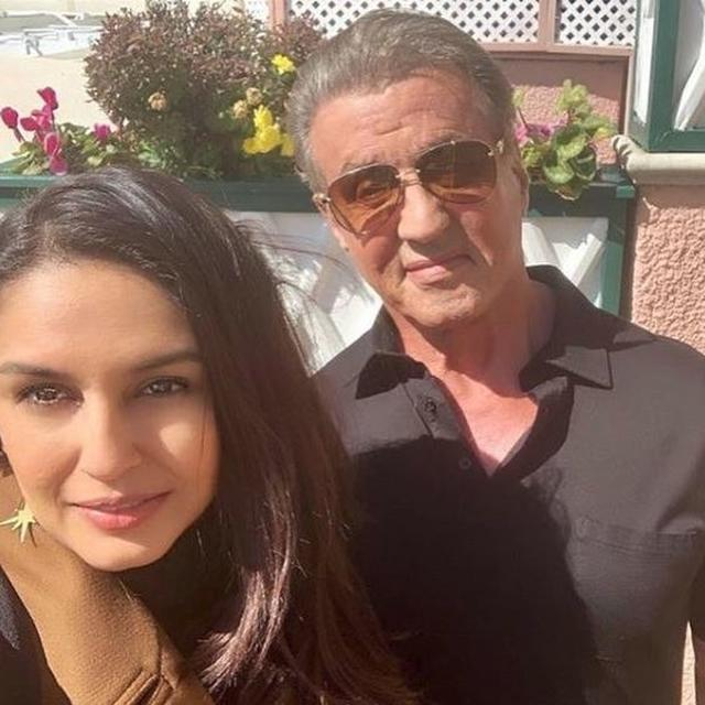 'ROCKY BALBOA FOR LIFE': HUMA QURESHI SHARES PICTURES OF HER FANGIRL MOMENT WITH HOLLYWOOD STAR SYLVESTER STALLONE