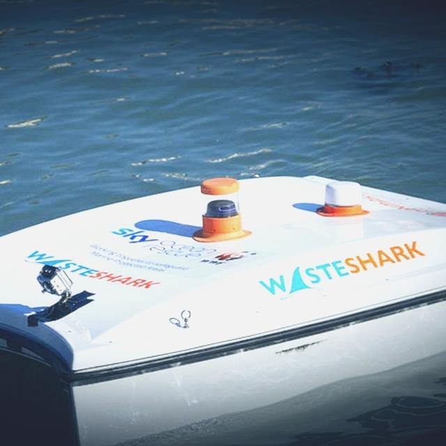 HIGH-TECH MARINE ROBOT EATS UP OCEAN'S PLASTIC WASTE BEFORE TIDE TAKES IT AWAY