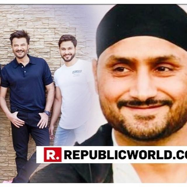 HARBHAJAN SINGH HAS A VALID QUERY FOR ANIL KAPOOR ON HOW HE LOOKS 26 AT 62; THE ACTOR REVEALS HIS 'SECRET'