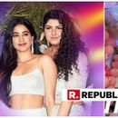 IN PICTURES | 'BIRTHDAY SURPRISE' DOESN'T EVEN BEGIN TO COVER WHAT ANSHULA KAPOOR DID FOR JANHVI KAPOOR