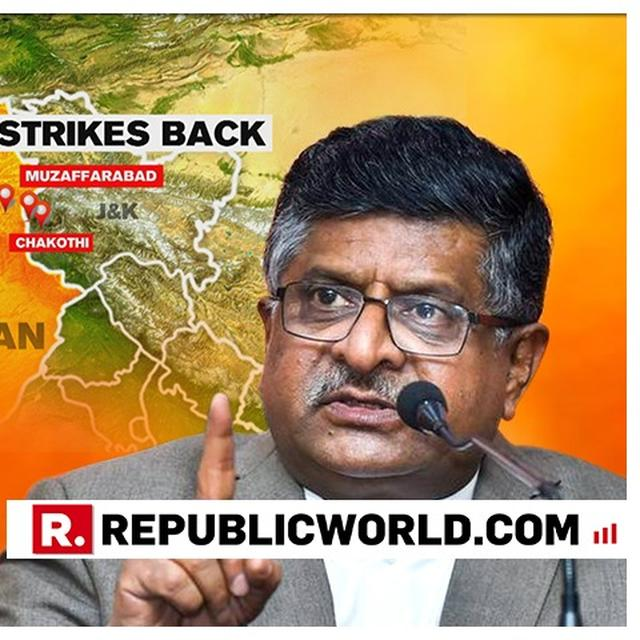 """WATCH: """"DOES RAHUL GANDHI WANT CERTIFICATE FROM PAKISTAN,"""" ASKS RAVI SHANKAR PRASAD AFTER CONGRESS PRESIDENT SHOOTS """"AIRSTRIKE EVIDENCE"""" QUESTION"""