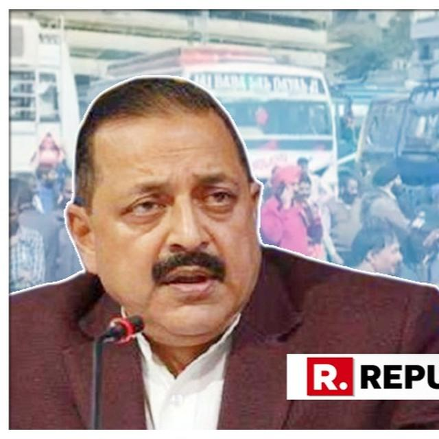 """WATCH: """"SPOOKED BY GOVERNMENT'S ACTION, TERRORISTS ARE INDULGING IN THESE GRISLY ACTIVITIES"""", MOS PMO DR JITENDRA SINGH CONDEMNS THE JAMMU GRENADE ATTACK"""