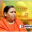 CONTROVERSIAL COMMENT: 'SHOULDN'T TREAT HINDUS AS GUINEA PIGS', SAYS UMA BHARTI AFTER SUPREME COURT ORDERS MEDIATION IN AYODHYA DISPUTE