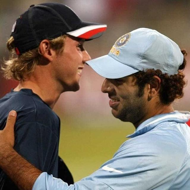 THE HILARIOUS BANTER BETWEEN YUVRAJ SINGH AND STUART BROAD IS SURE TO LEAVE YOU IN SPLITS