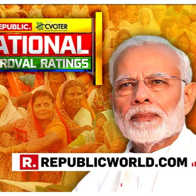NATIONAL APPROVAL RATINGS: UNEMPLOYMENT & NATIONAL SECURITY PEOPLE'S BIGGEST CONCERNS; NDA BEST SUITED TO HANDLE THEM, REVEALS CVOTER SURVEY. DETAILS HERE