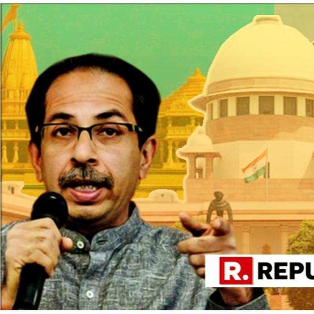 MEDIATION WON'T WORK, SAYS SHIV SENA, RE-ISSUING ITS CALL FOR AN ORDINANCE TO RESOLVE THE AYODHYA DISPUTE