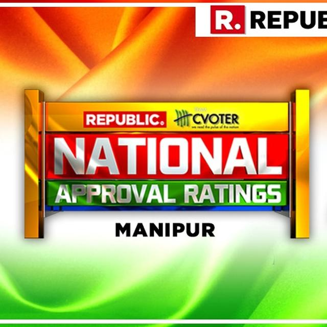 NATIONAL APPROVAL RATINGS: IN MANIPUR, NDA AND UPA LIKELY TO INDULGE IN A TUG OF WAR AS BOTH PROJECTED TO ACQUIRE ONE SEAT EACH