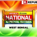 NATIONAL APPROVAL RATINGS: IN WEST BENGAL, MAMATA'S TMC PROJECTED TO TAKE LEAD, NDA FOLLOWS FAR BEHIND