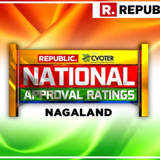 NATIONAL APPROVAL RATINGS: IN NAGALAND, NDA PROJECTED TO RETAIN THE LONE SEAT AS UPA LIKELY TO RECORD ANOTHER LOSS