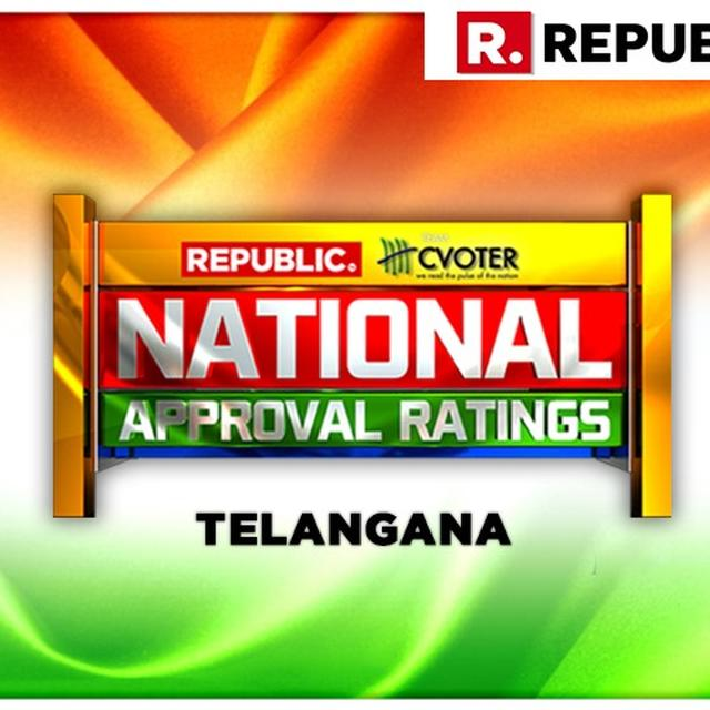 NATIONAL APPROVAL RATINGS: IN TELANGANA, NDA & UPA VANISHES AS KCR'S TRS PROJECTED TO DOMINATE THE STATE