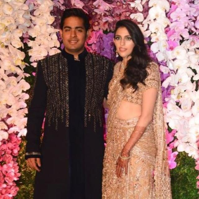 DABBOO RATNANI HAS CAPTURED THE DEFINITIVE '#LOVE' PICTURE OF NEWLYWEDS AKASH AMBANI AND SHLOKA MEHTA. HERE IT IS