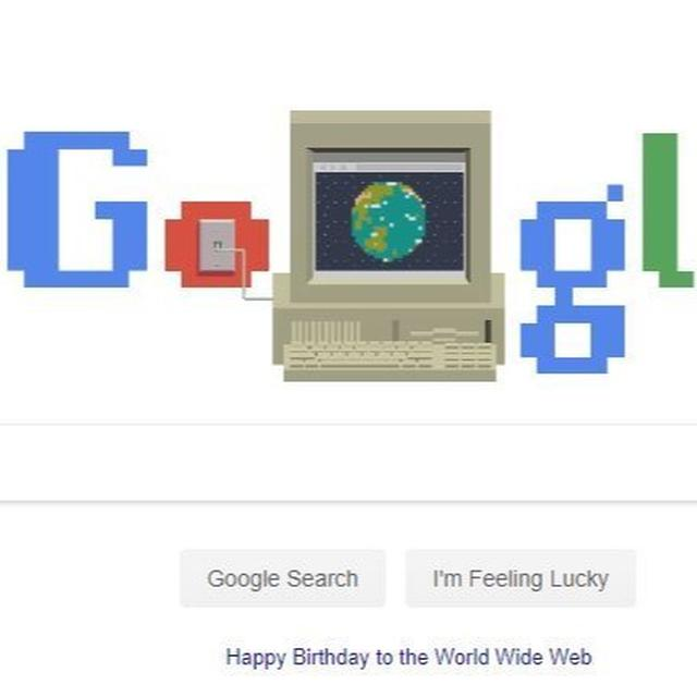 GOOGLE IS CELEBRATING 30 YEARS OF THE WORLD WIDE WEB AND THE DOODLE WILL SET YOU ON A NOSTALGIA OVERDRIVE