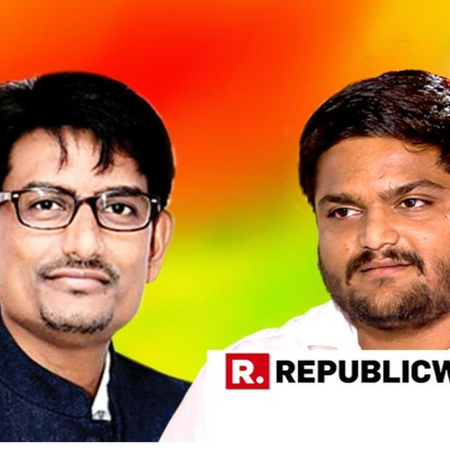 SCOOP: TURMOIL IN GUJARAT CONGRESS AS POWER TUSSLE BETWEEN ALPESH THAKOR AND HARDIK PATEL HEIGHTENS AFTER LATTER'S ENTRY INTO PARTY