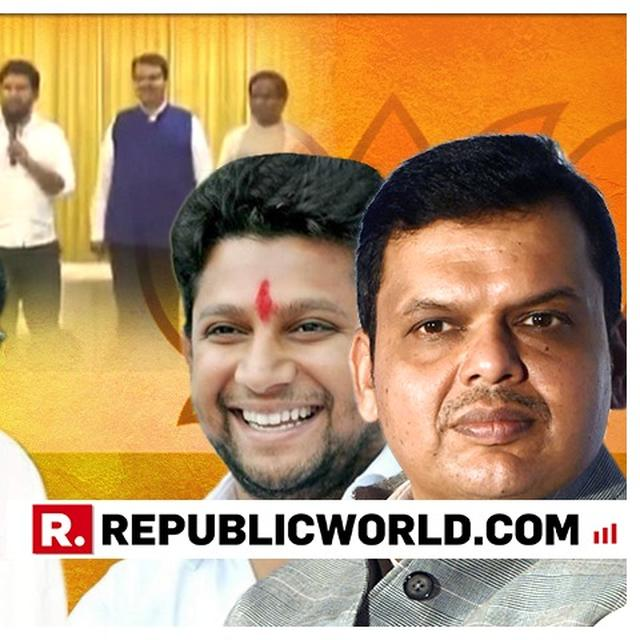 SCOOP: VIKHE PATIL MAY RESIGN AS MAHA LEADER OF OPPN AFTER HIS SON JUMPS SHIP TO BJP