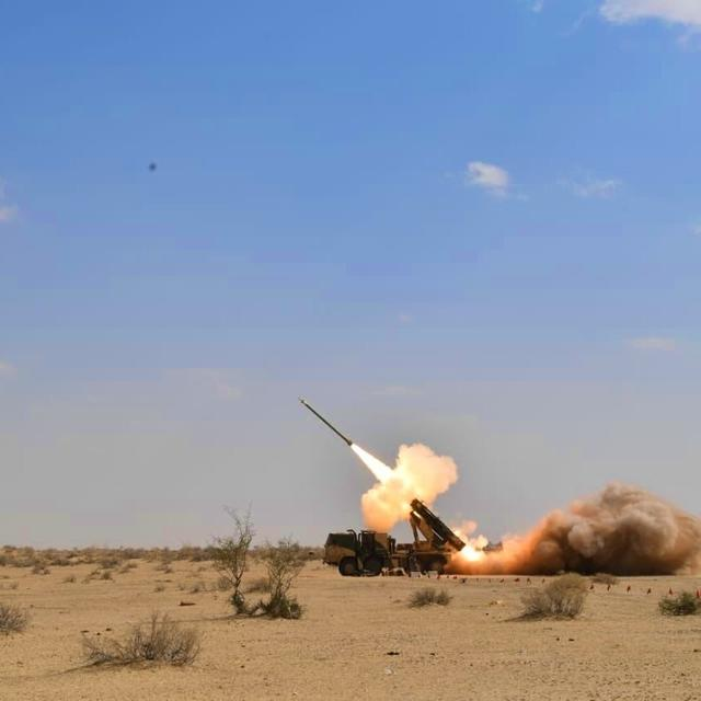 JUST WATCH THIS: STUNNING TEST-FIRE OF INDIA'S PINAKA GUIDED EXTENDED-RANGE ROCKETS