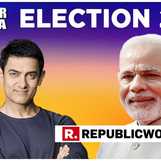 """ABSOLUTELY RIGHT SIR..."": AAMIR KHAN ANSWERS PM MODI'S ELECTION 2019 CLARION CALL. HERE IT IS"