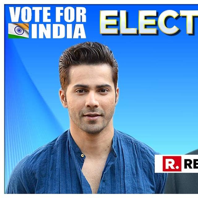 READ: VARUN DHAWAN'S AFFIRMATIVE RESPONSE TO PM MODI'S 'VOTE FOR INDIA' ELECTION 2019 CLARION CALL