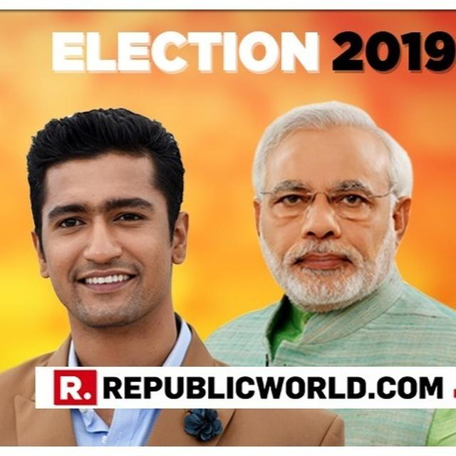 VICKY KAUSHAL'S EMPHATIC RESPONSE TO PM MODI'S 'VOTE FOR INDIA' APPEAL FOR THE 2019 ELECTIONS IS ALL ABOUT CELEBRATING DEMOCRACY. READ HERE