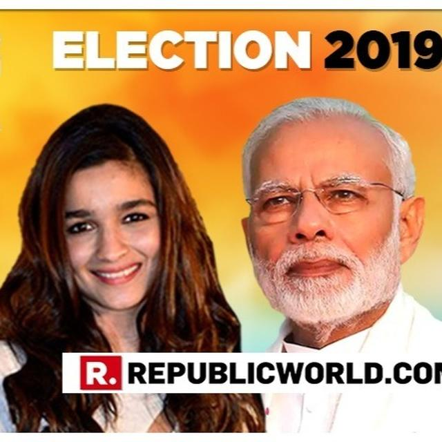 DON'T MISS: ALIA BHATT ANSWERS PM MODI'S 'VOTE FOR INDIA' ELECTIONS 2019 CLARION CALL. HERE'S WHAT SHE HAS TO SAY