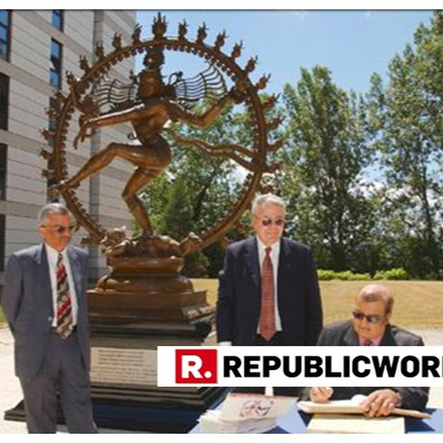 AWESOME: 'MADE IN INDIA' NATARAJA STATUE NOW OVERLOOKS THE WORLD'S LARGEST PARTICLE ACCELERATOR - CERN'S LHC