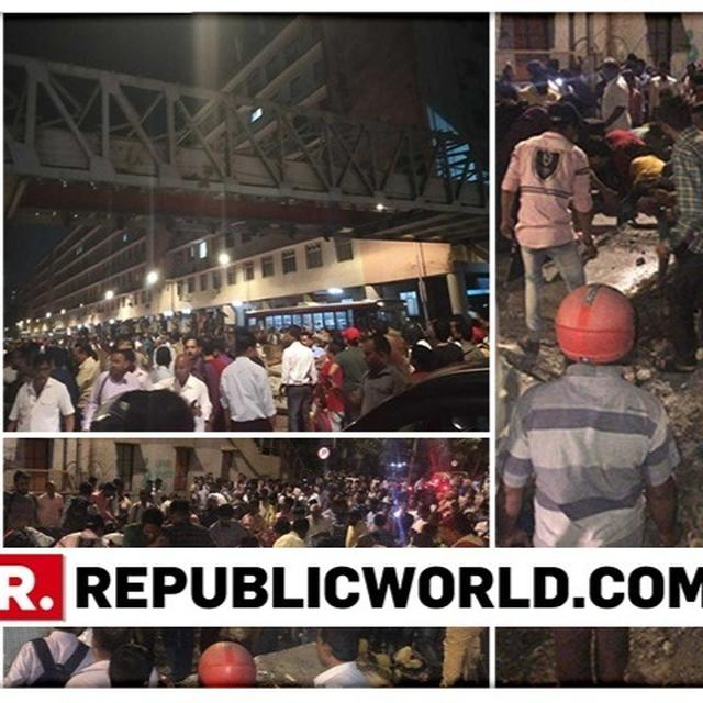 6 DEAD, OVER 30 INJURED AS FOOT-OVER BRIDGE OUTSIDE MUMBAI'S CST RAILWAY STATION COLLAPSES: LIVE UPDATES