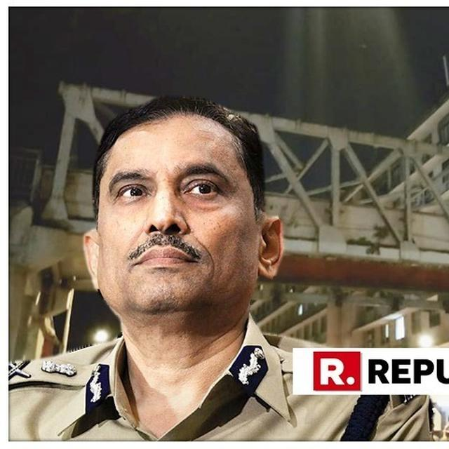 'ALL INJURED HAVE BEEN SHIFTED TO THE HOSPITAL, NO ONE IS TRAPPED', CONFIRMS POLICE COMMISSIONER SANJAY BARVE ON BRIDGE COLLAPSE NEAR CST IN MUMBAI