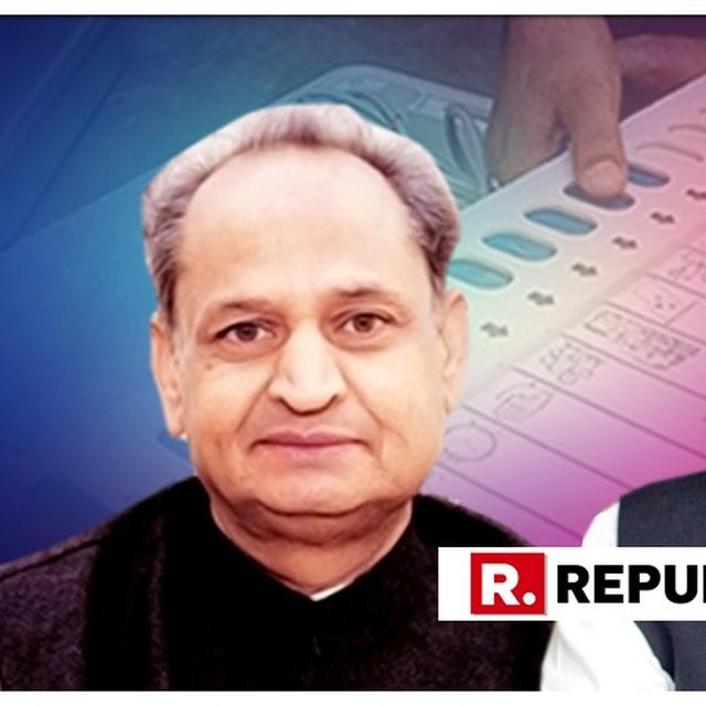 SPECULATION IN RAJASTHAN OVER CONGRESS TICKET FOR CM ASHOK GEHLOT'S SON
